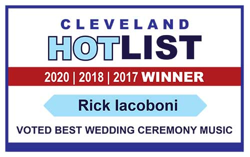 Cleveland HotList 2020 Winner - Best Wedding Ceremony Music